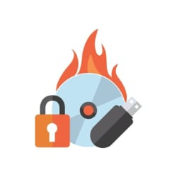 Roxio Secure Burn Enterprise - maintenance (1 year) - 1 user