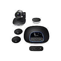 Logitech GROUP - video conferencing kit - with Logitech Expansion Microphon