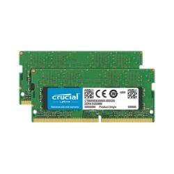Crucial - DDR4 - 16 GB: 2 x 8 GB - SO-DIMM 260-pin - unbuffered