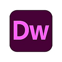 Adobe Dreamweaver CC - Team Licensing Subscription New (5 months) - 1 user