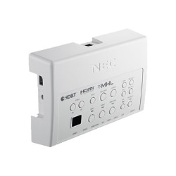 NEC HDBaseT media switch - video/audio/USB/network extender - HDBaseT