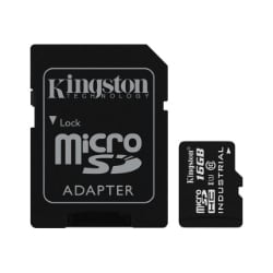 Kingston - flash memory card - 16 GB - microSDHC UHS-I