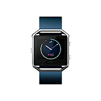 Fitbit Blaze smart watch with band - blue