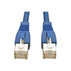 Tripp Lite 14ft Augmented CAT6a Shielded STP Snagless Patch Cable Blue 14'