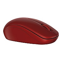 Dell WM126 - mouse - 2.4 GHz - red