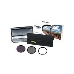 Tiffen Digital Essentials Kit - filter kit - UV protection / circular polar