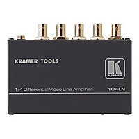 Kramer 104LN 1:4 Differential Video Line Amplifier - video splitter - 4 por