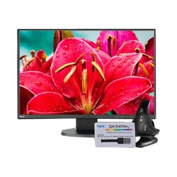 "NEC MultiSync EA245WMI-BK-SV - LED monitor - 24"" - with SpectraViewII Color"