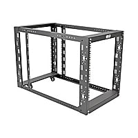 "Tripp Lite 4-Post Open Frame Rack Cabinet Floor Standing 36"" Depth rack - 1"