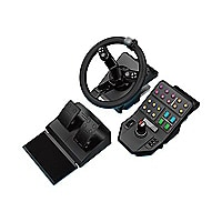 Logitech Heavy Equipment Bundle - Bundle - wheel and pedals set - wired