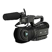 JVC 4KCAM GY-HM200SP - camcorder - storage: flash card