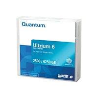 Quantum - LTO Ultrium 6 x 1 - 2.5 TB - storage media