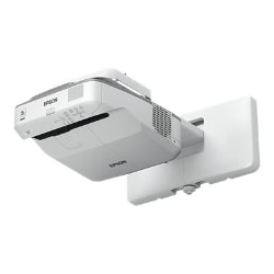 Epson PowerLite 675W - 3LCD projector - ultra short-throw - LAN