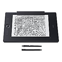 Wacom Intuos Pro Paper Edition Large - digitizer - USB, Bluetooth - black