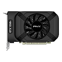 PNY GeForce GTX 1050 Ti - graphics card - GF GTX 1050 Ti - 4 GB