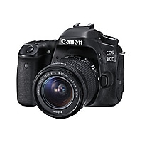 Canon EOS 80D - EF-S 18-55mm IS STM lens