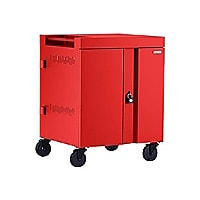 Bretford Cube TVC32 with Back Panel - cart