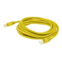Yellow TAA Compliant Axiom 6-Inch Cat6 550MHz Patch Cable Non-Booted