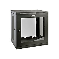 Tripp Lite 12U Wall Mount Rack Enclosure Server Cabinet w/ Glass Front Door