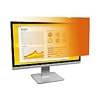 "3M Gold Privacy Filter for 23"" Widescreen Monitor - display privacy filter"