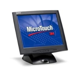 """3M 17"""" Micro Touch Display - Black"""
