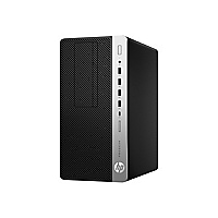 HP ProDesk 600 G3 - micro tower - Core i5 7500 3.4 GHz - 8 GB - 256 GB