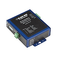 Black Box Industrial Opto-Isolated Serial to Fiber - short-haul modem - ASC