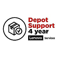 Lenovo Depot - extended service agreement - 4 years - School Year Term