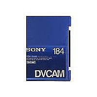 Sony PDV-184N DV tape - 1 x 184min