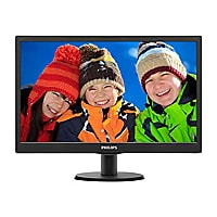 Philips V-line 203V5LSB2 - écran LED - 20""