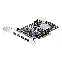StarTech.com 4 Port USB 3.1 PCI-e Card  - 4x USB-A w/ Two 10Gbps Channels