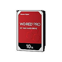 WD Red Pro NAS Hard Drive WD101KFBX - disque dur - 10 To - SATA 6Gb/s