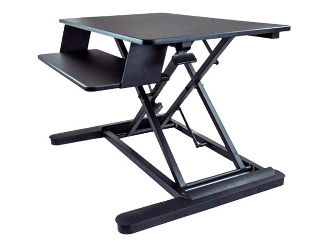 "Sit-Stand Desk Converter With 35"" Work Surface"