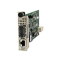 Transition Networks C2110 Series - fiber media converter - 100Mb LAN