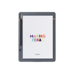 Wacom Bamboo Slate Small - digitizer - Bluetooth - medium gray with orange