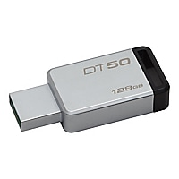 Kingston DataTraveler 50 - USB flash drive - 128 GB