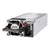 HPE - power supply - hot-plug / redundant - 500 Watt - 563 VA