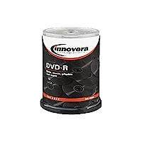 Innovera - DVD-R x 100 - 4.7 GB - storage media
