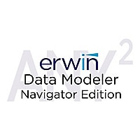 erwin Data Modeler Navigator Edition (v. 9,7) - license + 1 Year Enterprise