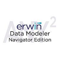erwin Data Modeler Navigator Edition (v. 9.7) - license + 1 Year Enterprise