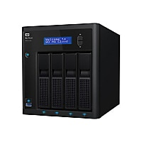 WD My Cloud PR4100 WDBNFA0400KBK - NAS server - 40 TB