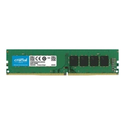 Crucial - DDR4 - 8 GB - DIMM 288-pin - unbuffered