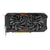 Gigabyte GeForce GTX 1050 Ti Windforce OC 4G - graphics card - GF GTX 1050