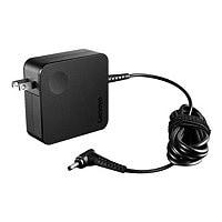 Lenovo 65W AC Wall Adapter (Mini Round Tip) - power adapter - 65 Watt
