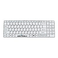 Seal Shield Clean Wipe Waterproof - keyboard - English - US - white