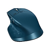 Logitech MX Master 2S - mouse - Bluetooth, 2.4 GHz - midnight teal