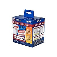 Brother DK-2251 - label tape - 1 roll(s) - Roll (2.44 in x 50 ft)