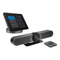 Logitech SmartDock Bundle for Skype Huddle Rooms - video conferencing kit -