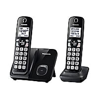 Panasonic KX-TGD512B - cordless phone with caller ID/call waiting + additio