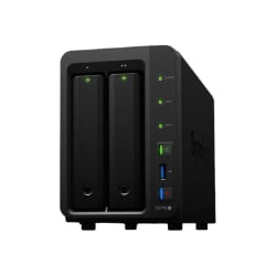Synology Disk Station DS718+ - NAS server - 0 GB